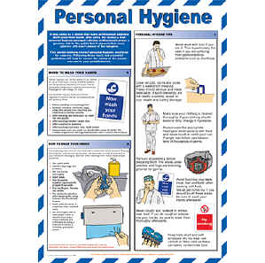 Personal Hygiene chart - from Signs & Plastic Products Ltd.